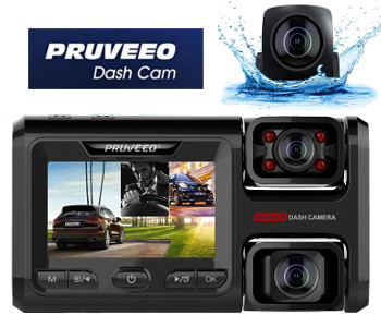 Pruveeo D40 3 Channel Dash Cam Review