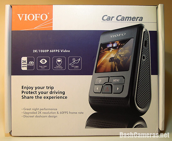 A119 VIOFO Dash Camera Box