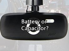 Dash Cam Battery or Capacitor