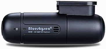 Blueskysea B1W Dash Camera back side