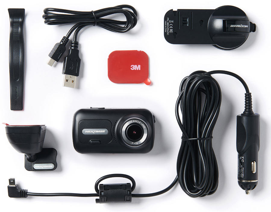 Nextbase 322GW dash cam accessories