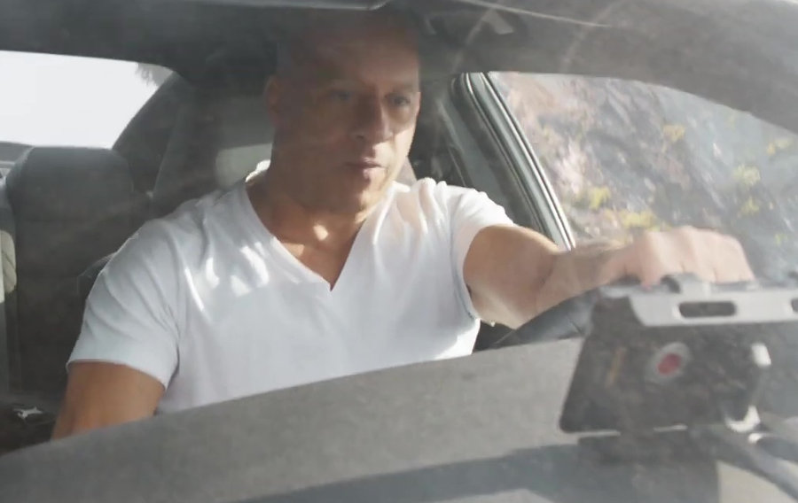 Red Camera Phone in Fast and Furious 9 Movie