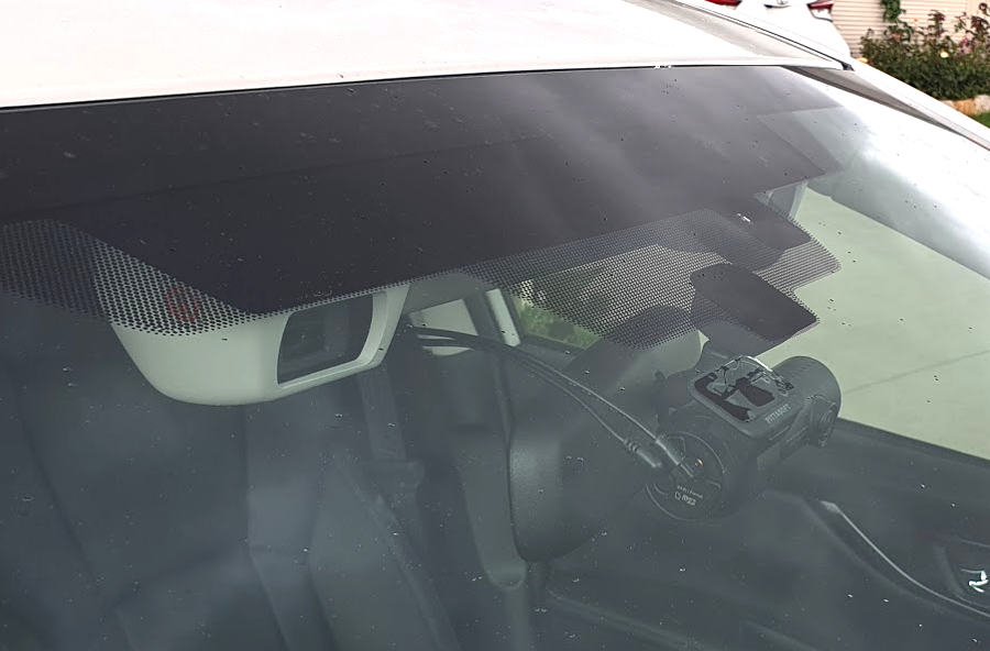 Subaru Impreza with a BlackVue