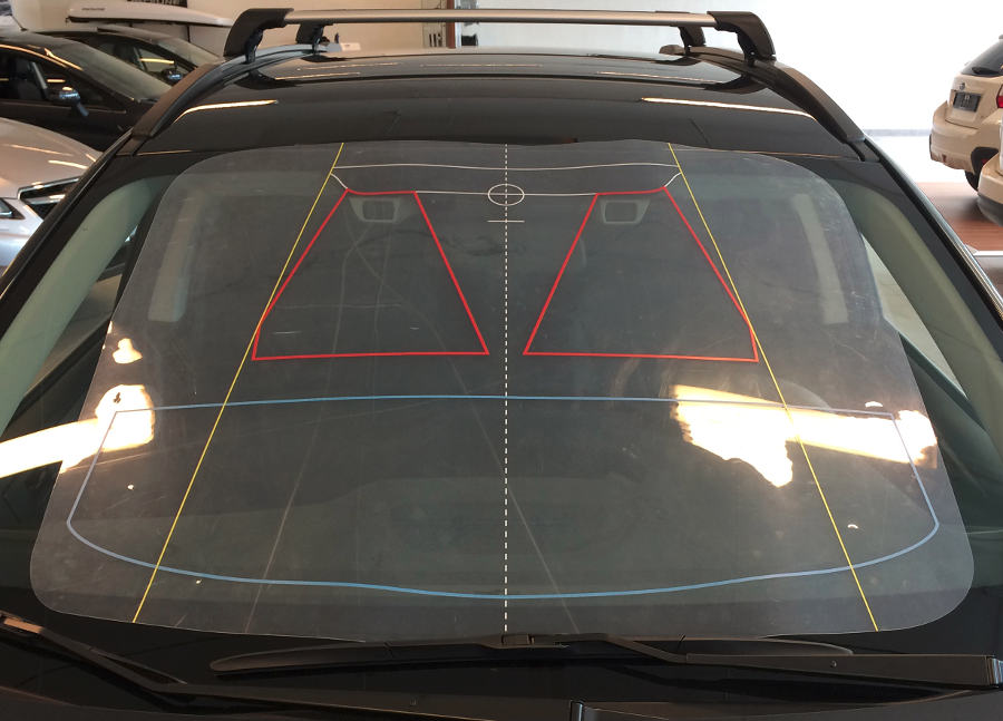 Subaru EyeSight area