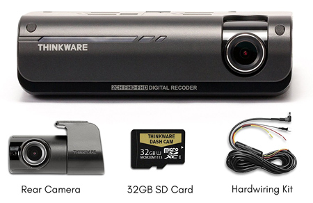 Thinkware F770 Dash Camera Package