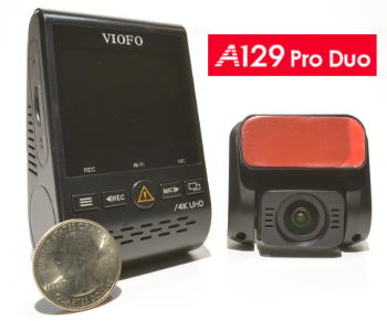 A129 Duo Pro 4K Dash Cam