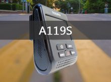 A119S Dash Cam Review