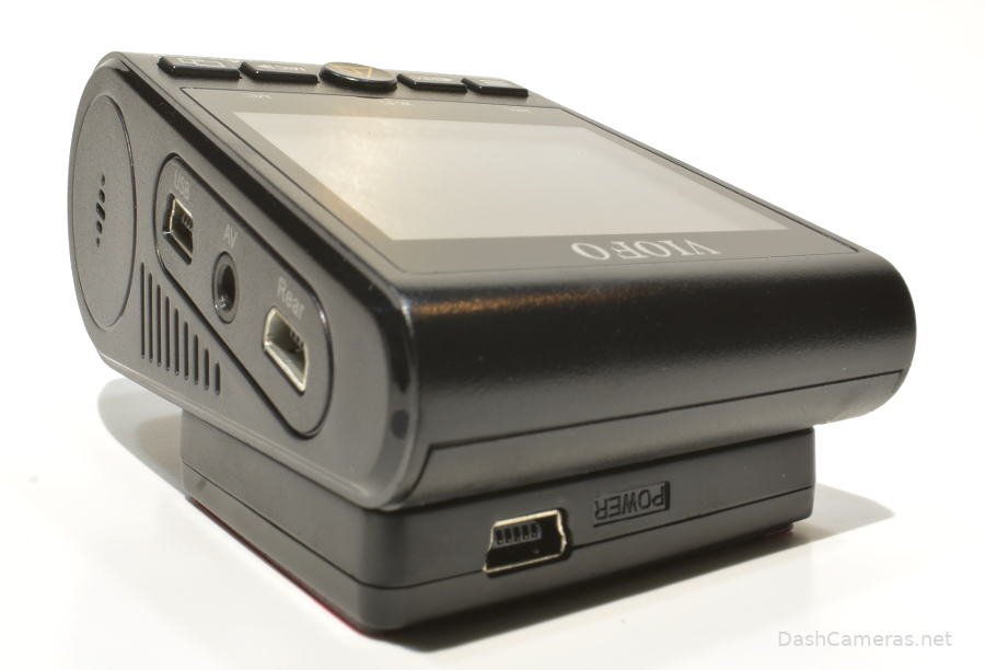 A129 Duo Pro side view with ports