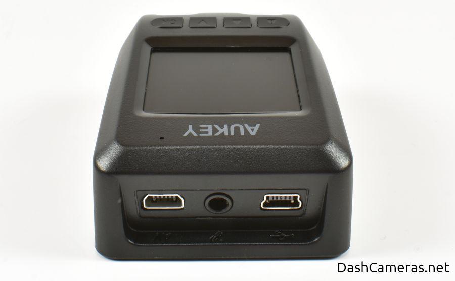 Aukey Dash Cam Ports