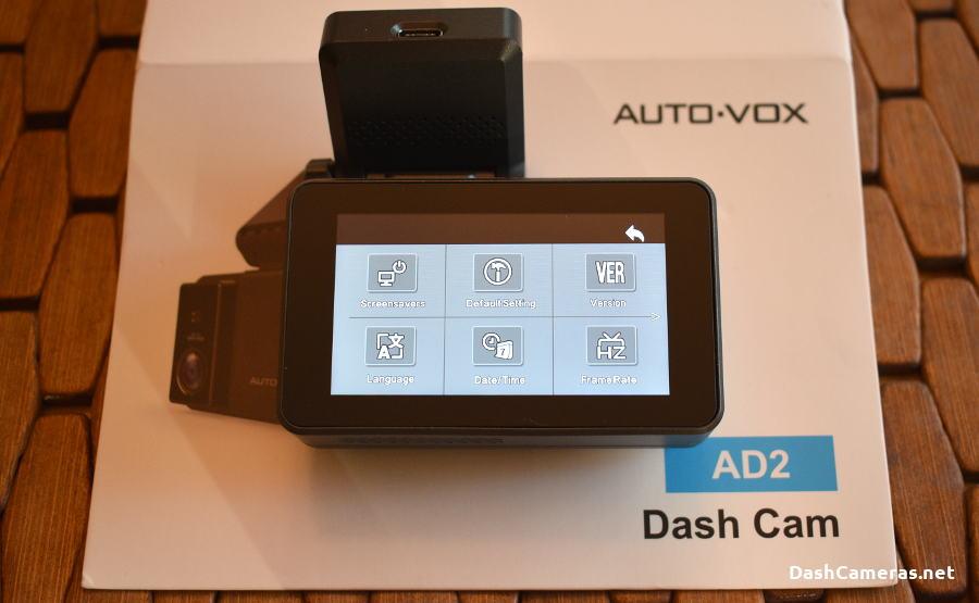 AUTO-VOX AD2 Dash Cam Review