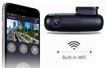B1W Dash Cam WiFi