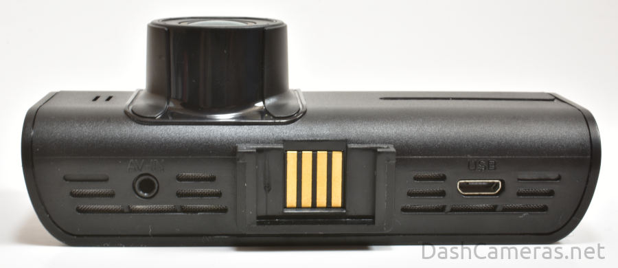 B4K dash cam mounting slot