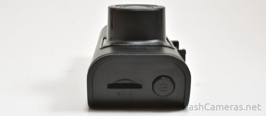 B4K Dash Cam side view SD card slot