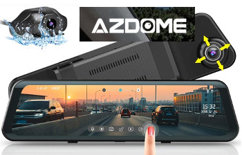 AZDOME Backup Dash Camera
