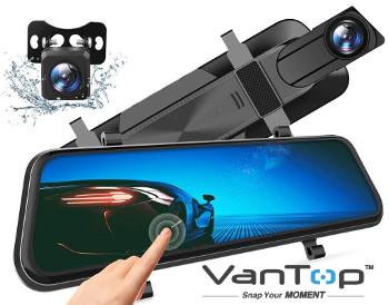 VanTop Dash Cam Backup Cam Combo