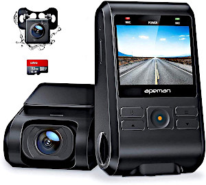 APEMAN Dash Cam Coupon Deal