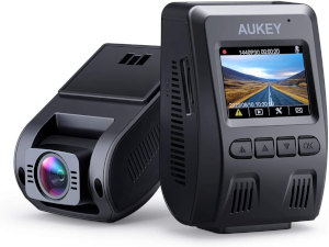 AUKEY Front & Rear Dash Cam Deal