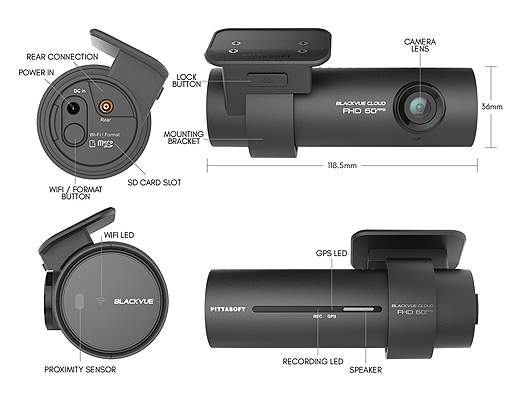 BlackVue DR750S Features