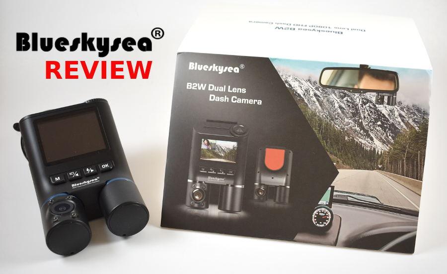 BlueSkySea B2W Dash Cam Review