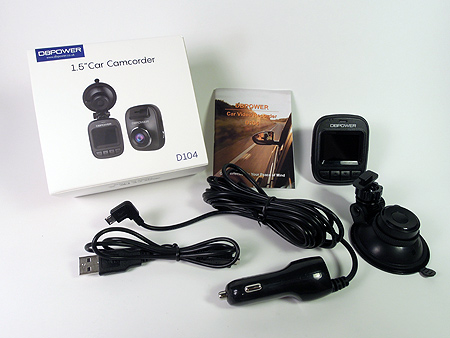 D104 DBPOWER Dash Cam Accessories