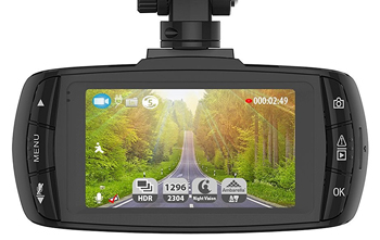 DBPOWER 2K Dashcam screen