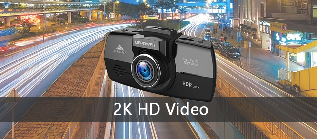 DBPOWER Dash Camera