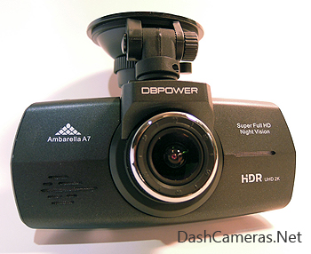 DBPOWER 2K HD Dashcam