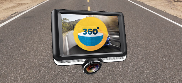 DR PRO 360 Dash Camera