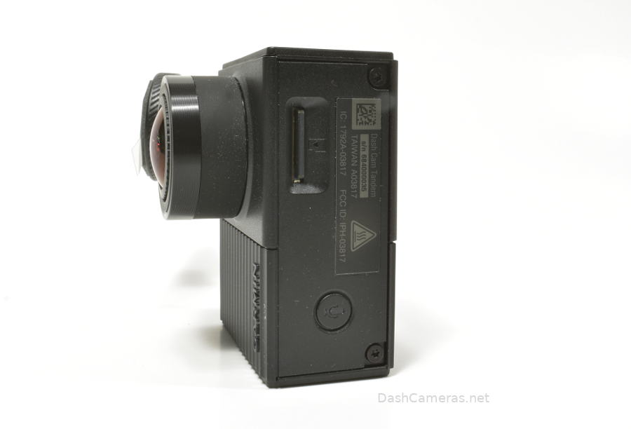 Bottom of Garmin Tandem Dash Camera