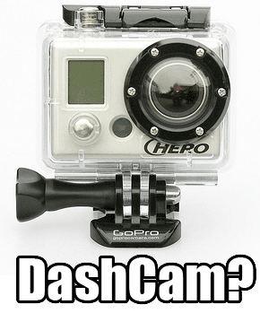 GoPro as Dash Cam