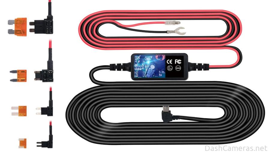 Universal dash cam hardwire kit