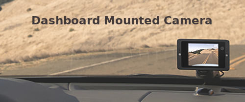 Dashboard Mounted Dash Cam
