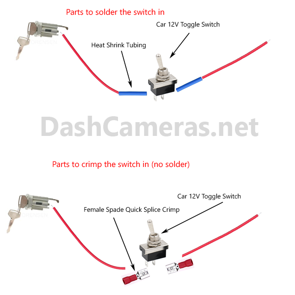 Ignition wire kill switch diagram