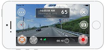 iPhone OSMAnd DVR Screenshot