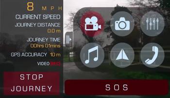 iPhone Drivermatics APP screenshot