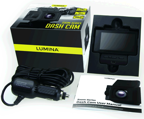 Lumina Dash Cam Included