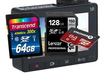 Dash Cam Memory Cards