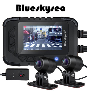 Blueskysea DV688 Motorcycle Dash Cam