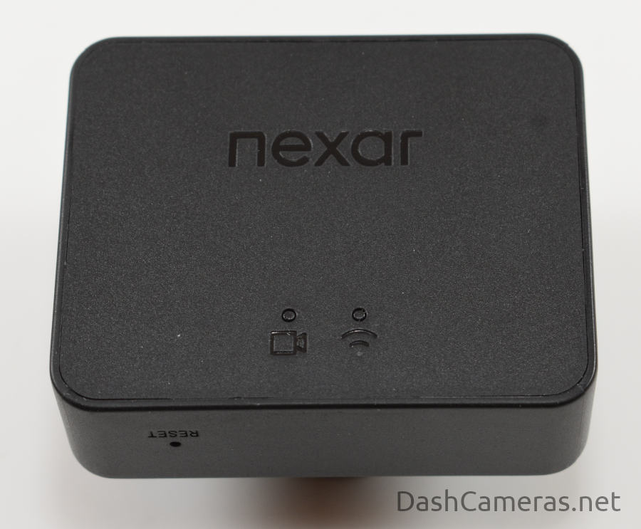 Back view of Nexar Beam dash camera