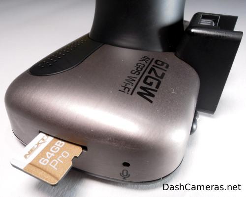 Nextbase 612gw memory card slot