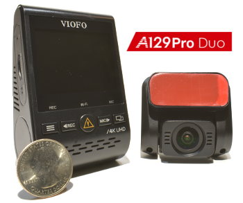 VIOFO A129 Duo Pro with Night Vision