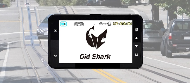 Old Shark Dash Cam