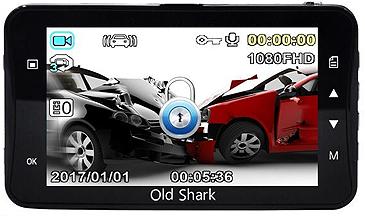 Old Shark LCD Screen