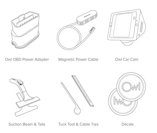 Owl Car Cam Accessories