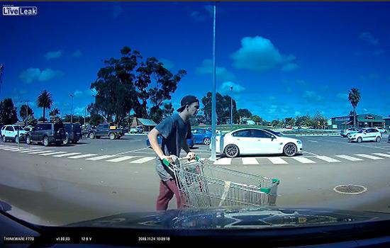 Dashcam Parking Lot Vandalism
