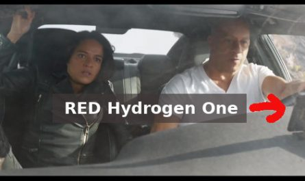 RED Phone in Fast & Furious 9 Movie