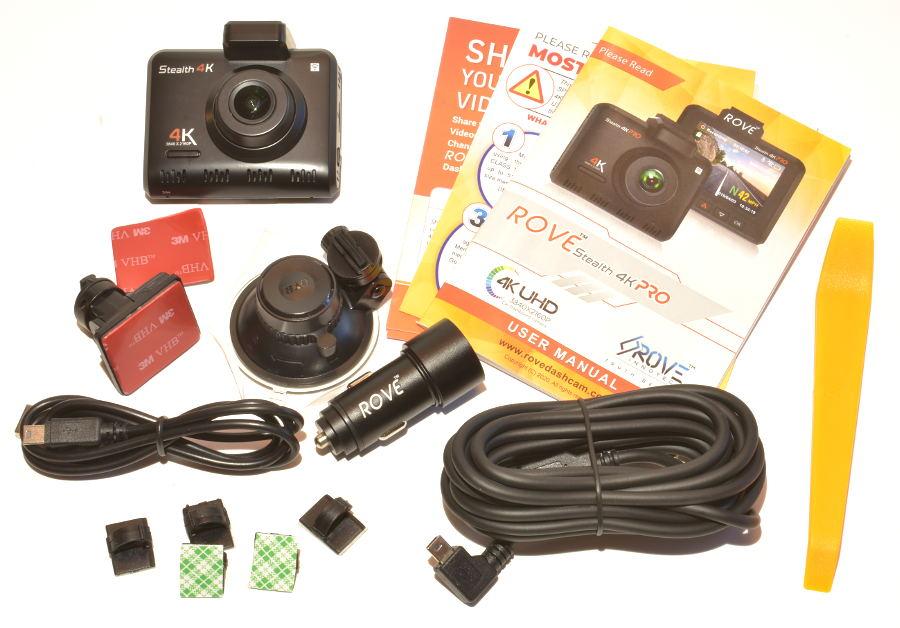 ROVE Stealth 4K Dash Cam Accessories