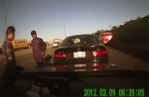 Dash Cam Extortion Bribe