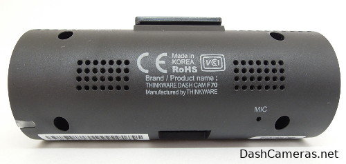 THINK WARE Dash Cam back view