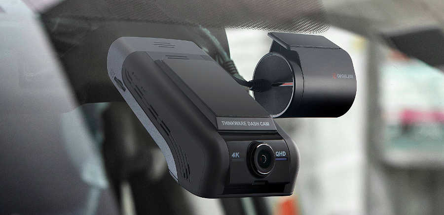 THINKWARE U1000 Dash Cam in Car